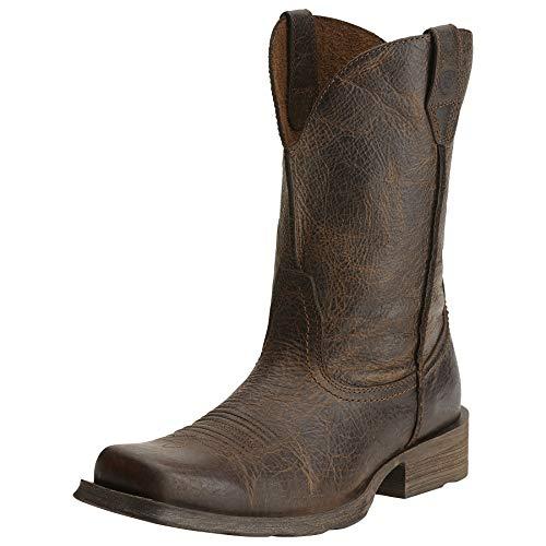 Ariat Men's Rambler Western Boot, Wicker, 9.5 Wide