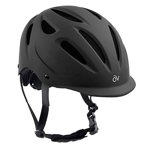 Ovation Women's Protege Riding Helmet, Black Matte, Medium/Large