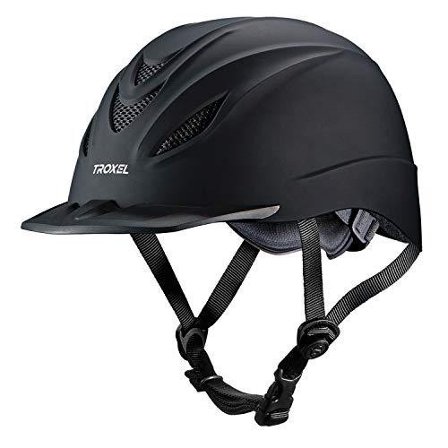 Troxel Intrepid Helmet, Black, Large