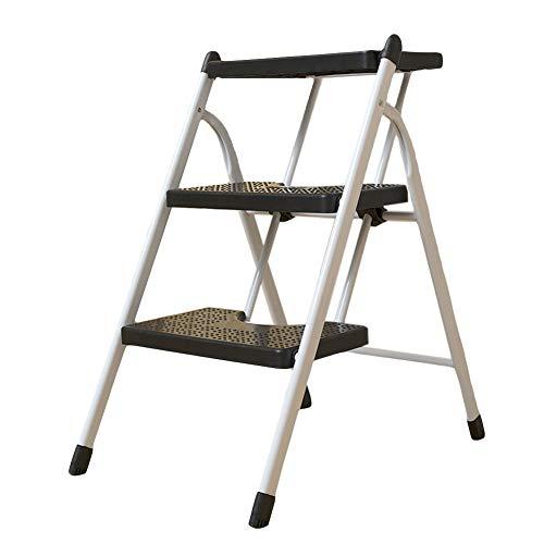 Portable Ladder Home Folding Mobile Ascending Ladder Thickened 2 or 3 Step Ladder