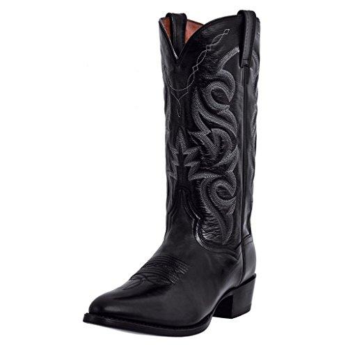 Dan Post Boots Mens Milwaukee Round Toe Boots Mid Calf - Black - Size 17 3E
