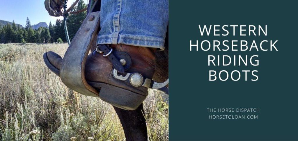 western horseback riding boots